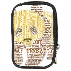 Panda Typography Compact Camera Cases