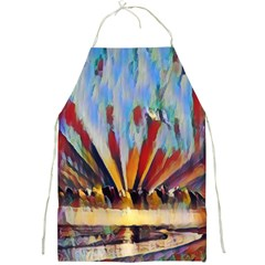3abstractionism Full Print Aprons