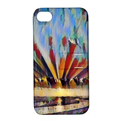 3abstractionism Apple Iphone 4/4s Hardshell Case With Stand