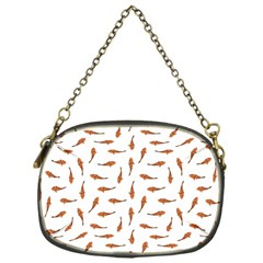 Koi Fishes Motif Pattern Chain Purses (one Side)
