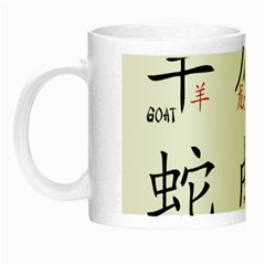 Chinese Zodiac Signs Night Luminous Mugs