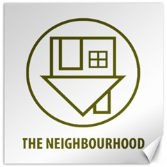 The Neighbourhood Logo Canvas 20  X 20