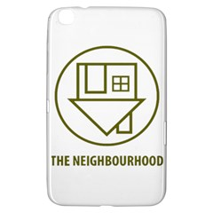 The Neighbourhood Logo Samsung Galaxy Tab 3 (8 ) T3100 Hardshell Case