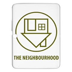 The Neighbourhood Logo Samsung Galaxy Tab 3 (10 1 ) P5200 Hardshell Case