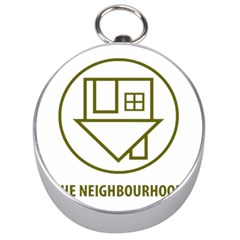 The Neighbourhood Logo Silver Compasses