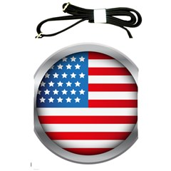 United Of America Usa Flag Shoulder Sling Bags