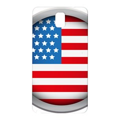 United Of America Usa Flag Samsung Galaxy Note 3 N9005 Hardshell Back Case