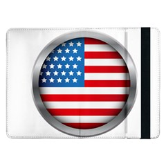 United Of America Usa Flag Samsung Galaxy Tab Pro 12 2  Flip Case
