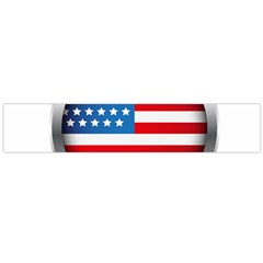 United Of America Usa Flag Large Flano Scarf
