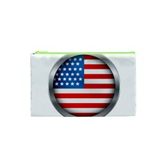 United Of America Usa Flag Cosmetic Bag (xs)