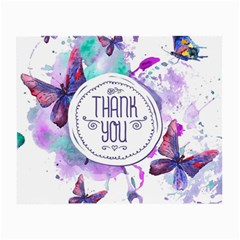 Thank You Small Glasses Cloth (2 Side)