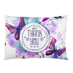 Thank You Pillow Case (two Sides)