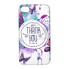 Thank You Apple Iphone 4/4s Hardshell Case With Stand