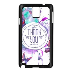 Thank You Samsung Galaxy Note 3 N9005 Case (black)