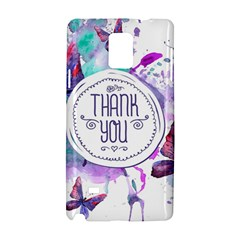 Thank You Samsung Galaxy Note 4 Hardshell Case