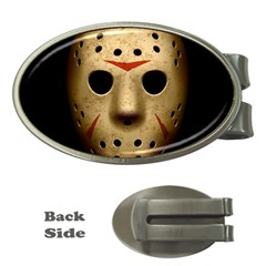 Jason Hockey Goalie Mask Money Clips (oval)