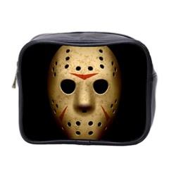 Jason Hockey Goalie Mask Mini Toiletries Bag 2 Side