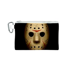 Jason Hockey Goalie Mask Canvas Cosmetic Bag (s)