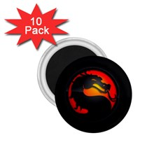 Dragon 1 75  Magnets (10 Pack)