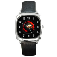 Dragon Square Metal Watch