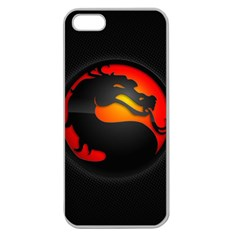 Dragon Apple Seamless Iphone 5 Case (clear)