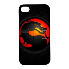 Dragon Apple Iphone 4/4s Hardshell Case With Stand