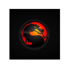 Dragon Small Satin Scarf (square)
