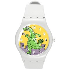 Dragon Round Plastic Sport Watch (m)