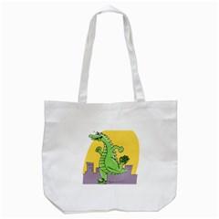 Dragon Tote Bag (white)