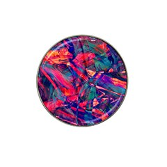 Abstract Acryl Art Hat Clip Ball Marker