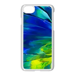 Abstract Acryl Art Apple Iphone 8 Seamless Case (white)