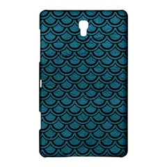 Scales2 Black Marble & Teal Leather Samsung Galaxy Tab S (8 4 ) Hardshell Case