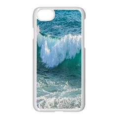 Awesome Wave Ocean Photography Apple Iphone 8 Seamless Case (white)