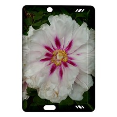 Floral Soft Pink Flower Photography Peony Rose Amazon Kindle Fire Hd (2013) Hardshell Case