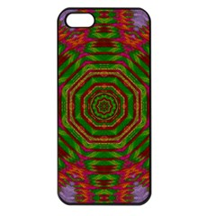 Feathers And Gold In The Sea Breeze For Peace Apple Iphone 5 Seamless Case (black)