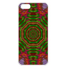 Feathers And Gold In The Sea Breeze For Peace Apple Iphone 5 Seamless Case (white)