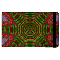 Feathers And Gold In The Sea Breeze For Peace Apple Ipad 2 Flip Case