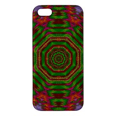 Feathers And Gold In The Sea Breeze For Peace Apple Iphone 5 Premium Hardshell Case