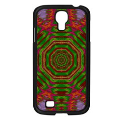 Feathers And Gold In The Sea Breeze For Peace Samsung Galaxy S4 I9500/ I9505 Case (black)