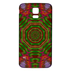 Feathers And Gold In The Sea Breeze For Peace Samsung Galaxy S5 Back Case (white)