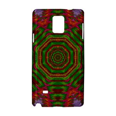 Feathers And Gold In The Sea Breeze For Peace Samsung Galaxy Note 4 Hardshell Case