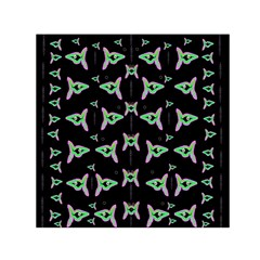 Fishes Talking About Love And Stuff Small Satin Scarf (square)