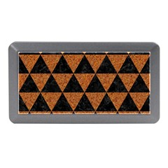 Triangle3 Black Marble & Teal Leather Memory Card Reader (mini)