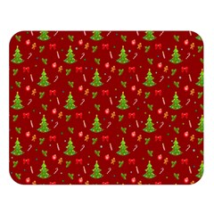 Christmas Pattern Double Sided Flano Blanket (large)