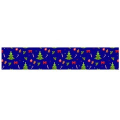 Christmas Pattern Large Flano Scarf