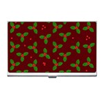 Christmas pattern Business Card Holders Front