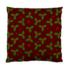 Christmas Pattern Standard Cushion Case (two Sides)