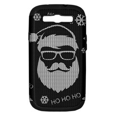 Ugly Christmas Sweater Samsung Galaxy S Iii Hardshell Case (pc+silicone)