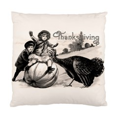 Vintage Thanksgiving Standard Cushion Case (two Sides)