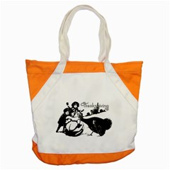 Vintage Thanksgiving Accent Tote Bag